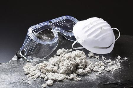 How dangerous is asbestos exposure in the workplace?
