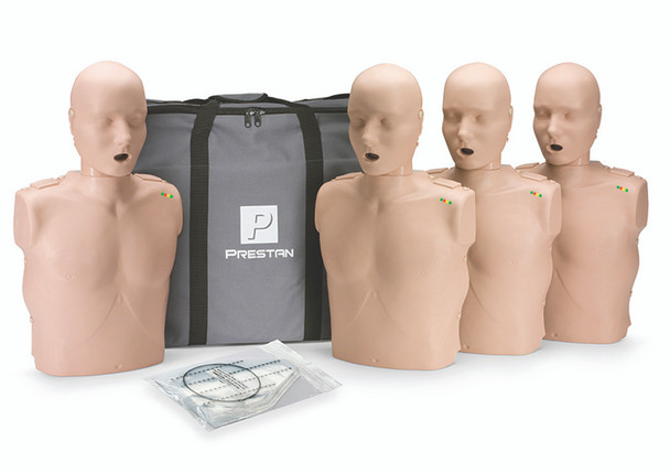 Manikin Adult with CPR Monitor inc 50 Lung Bags