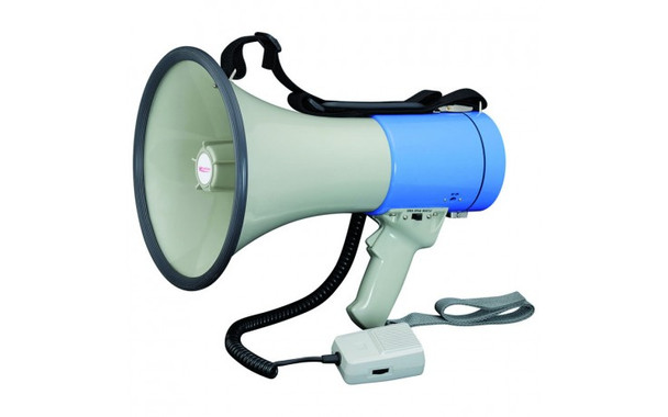 Megaphone with separate microphone 25W