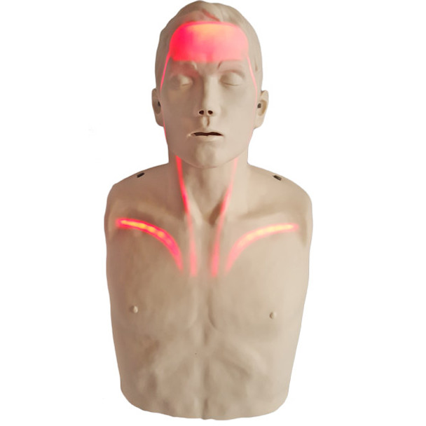 Brayden CPR Manikin Advanced With Red Illumination LED Lights