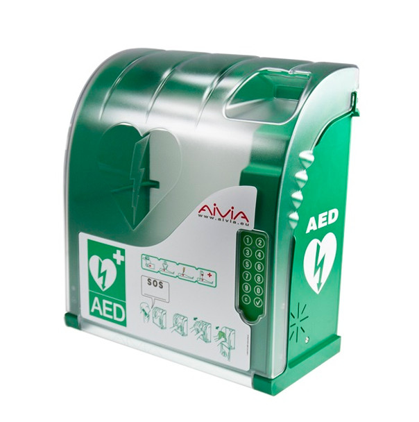 Aivia 210 Outdoor AED Wall Cabinet