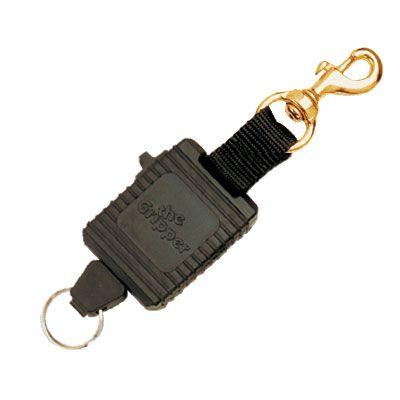 Locking Gripper with Brass Clip Black