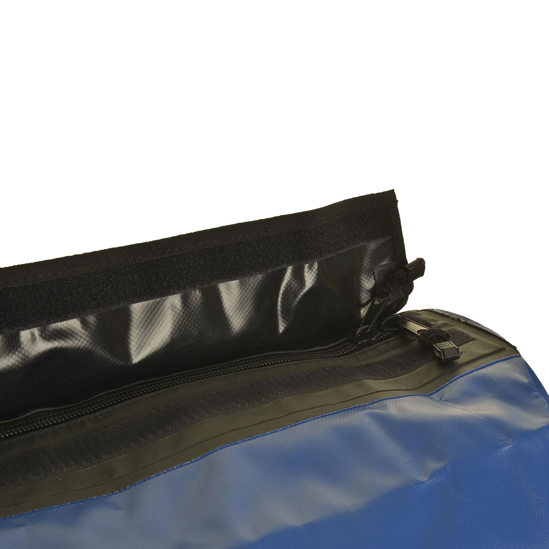 Armor Duffel Dry Bag Zipper Detail