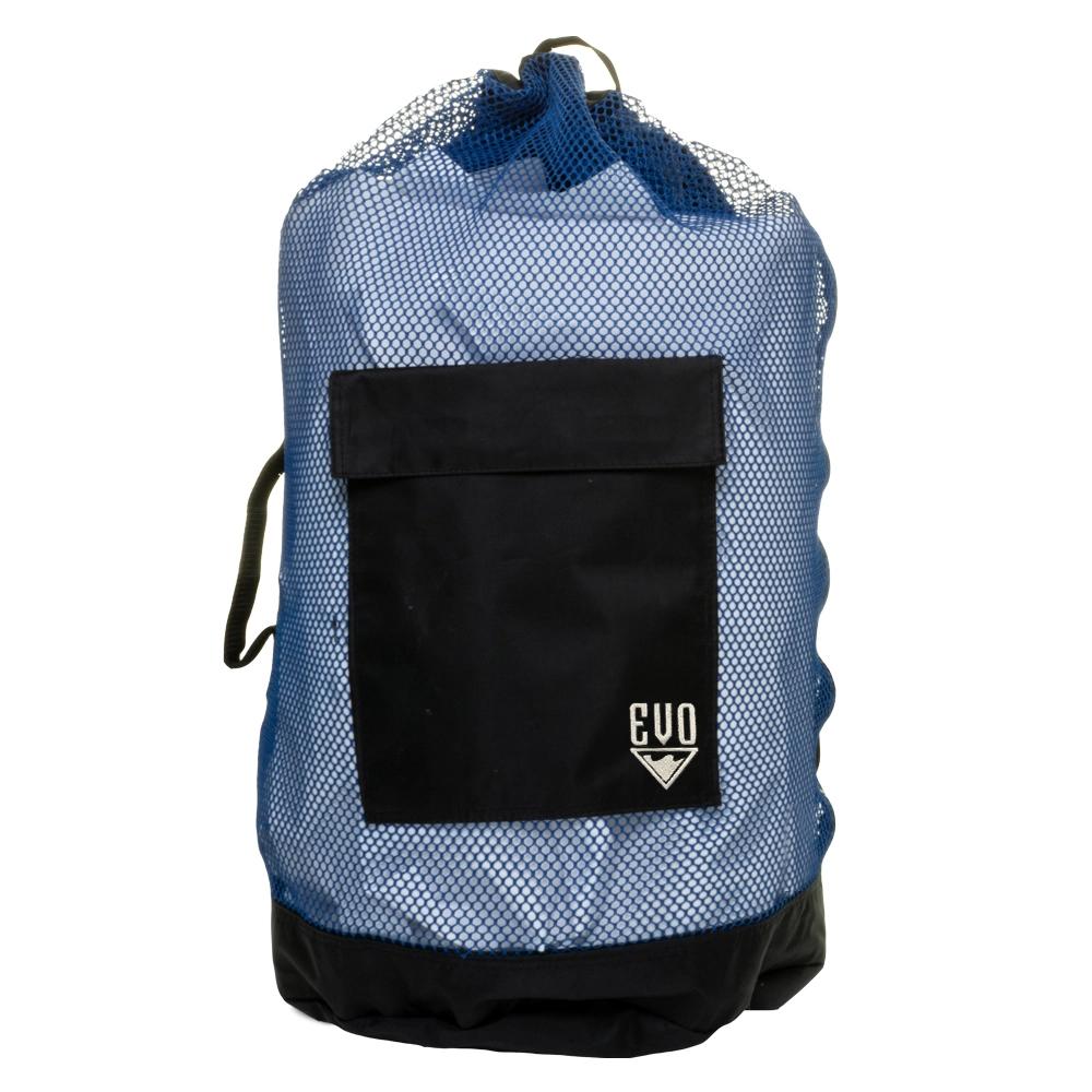 EVO Deluxe Mesh Backpack Dive Bag - Blue