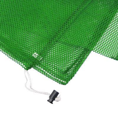 Armor Medium Mesh Drawstring Bag - Lime