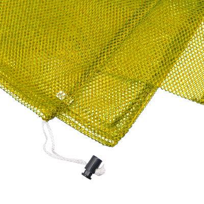Armor Medium Mesh Drawstring Bag - Yellow