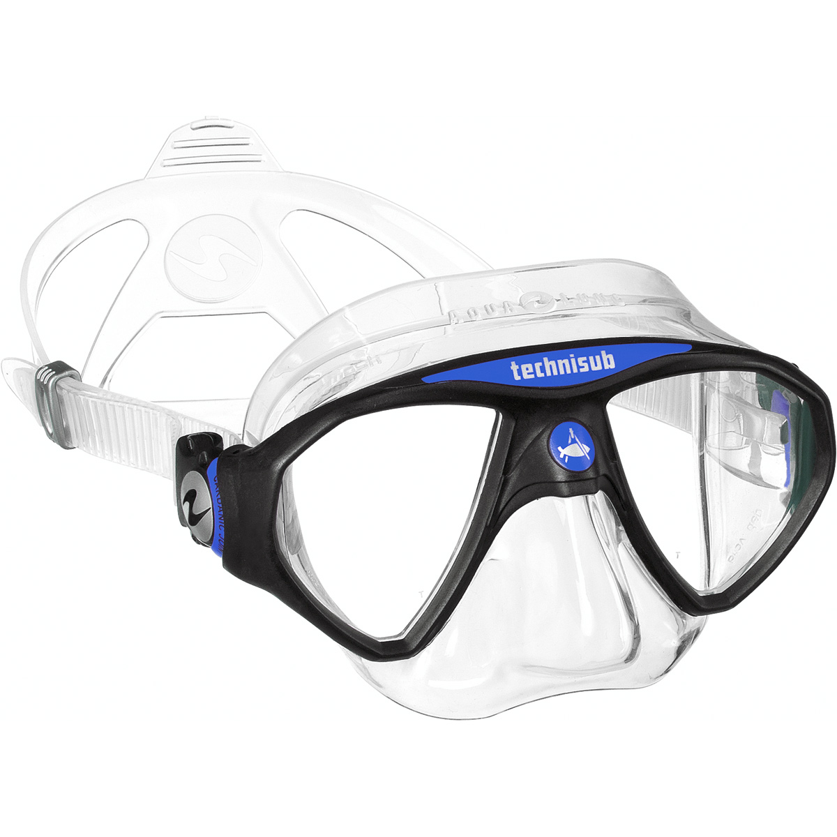 Aqua Lung Micromask, Two Lens - Blue