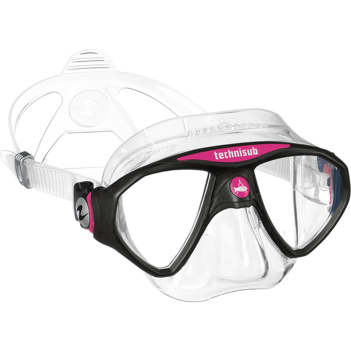 Aqua Lung Micromask, Two Lens - Pink