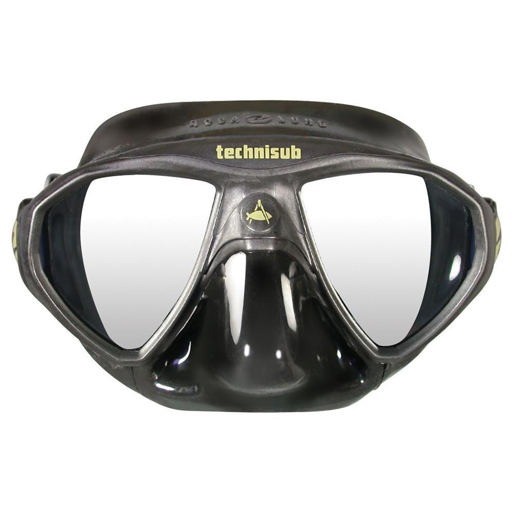 Aqua Lung Micromask, Two Lens - Black/Black