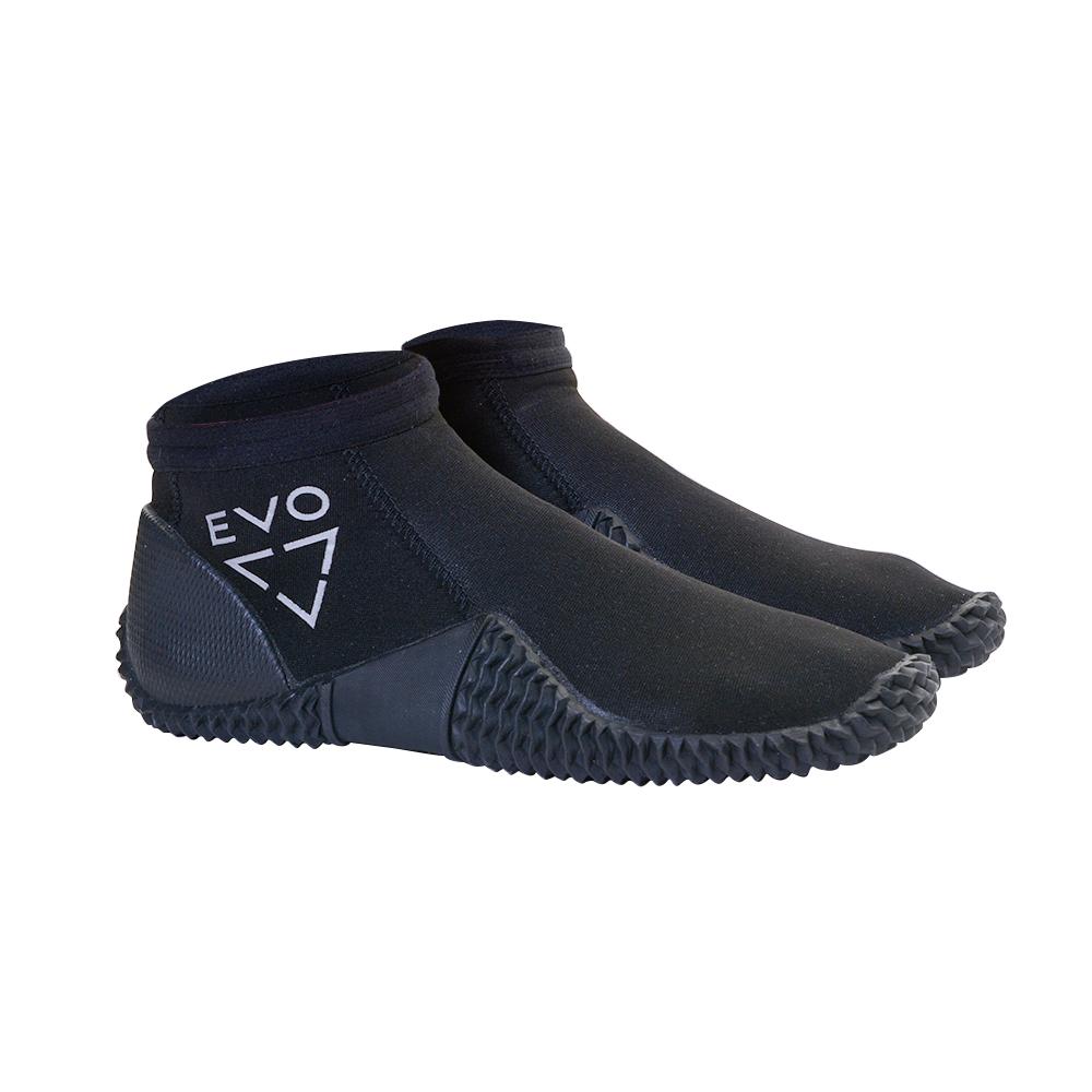 EVO 2MM Low Cut Dive Boots - Angled