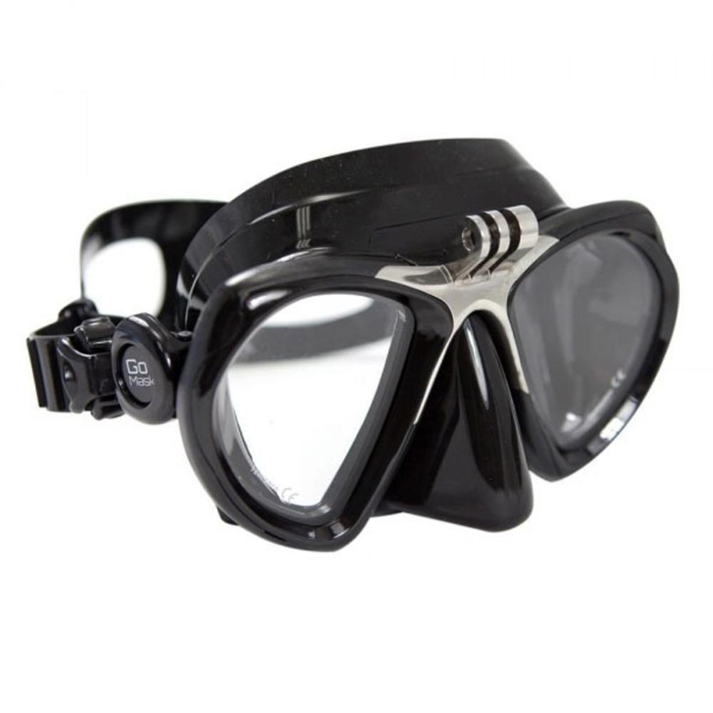 GoMask for GoPro, Two Lens - Black/Black