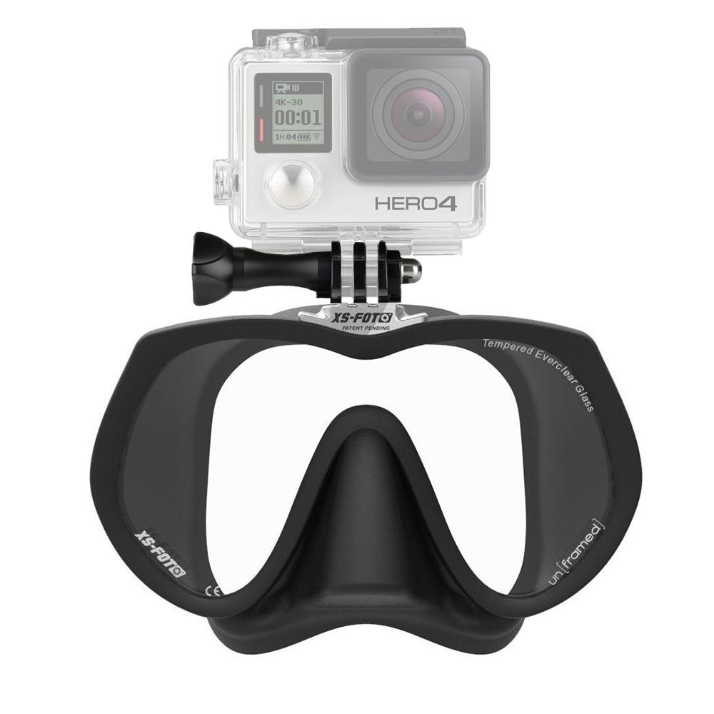 XS-Foto GoMask Frameless Single-Lens Mask for GoPro - Black