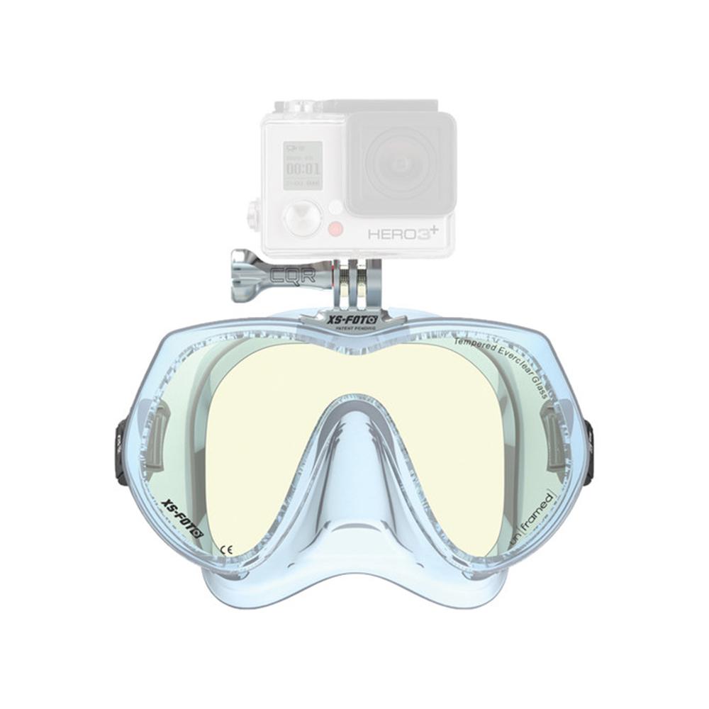 XS-Foto GoMask Frameless Single-Lens Mask for GoPro - Ice / Transparent