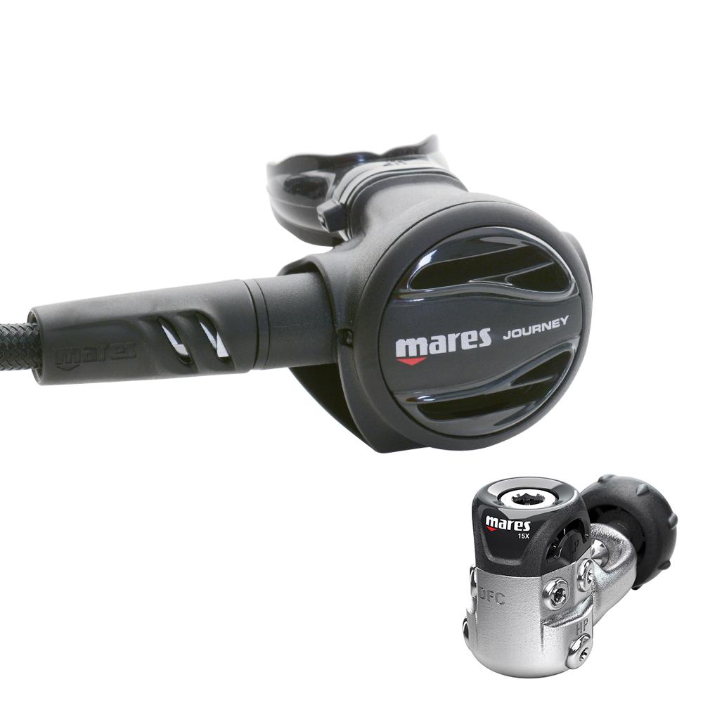 Mares Journey 15X Regulator - Black