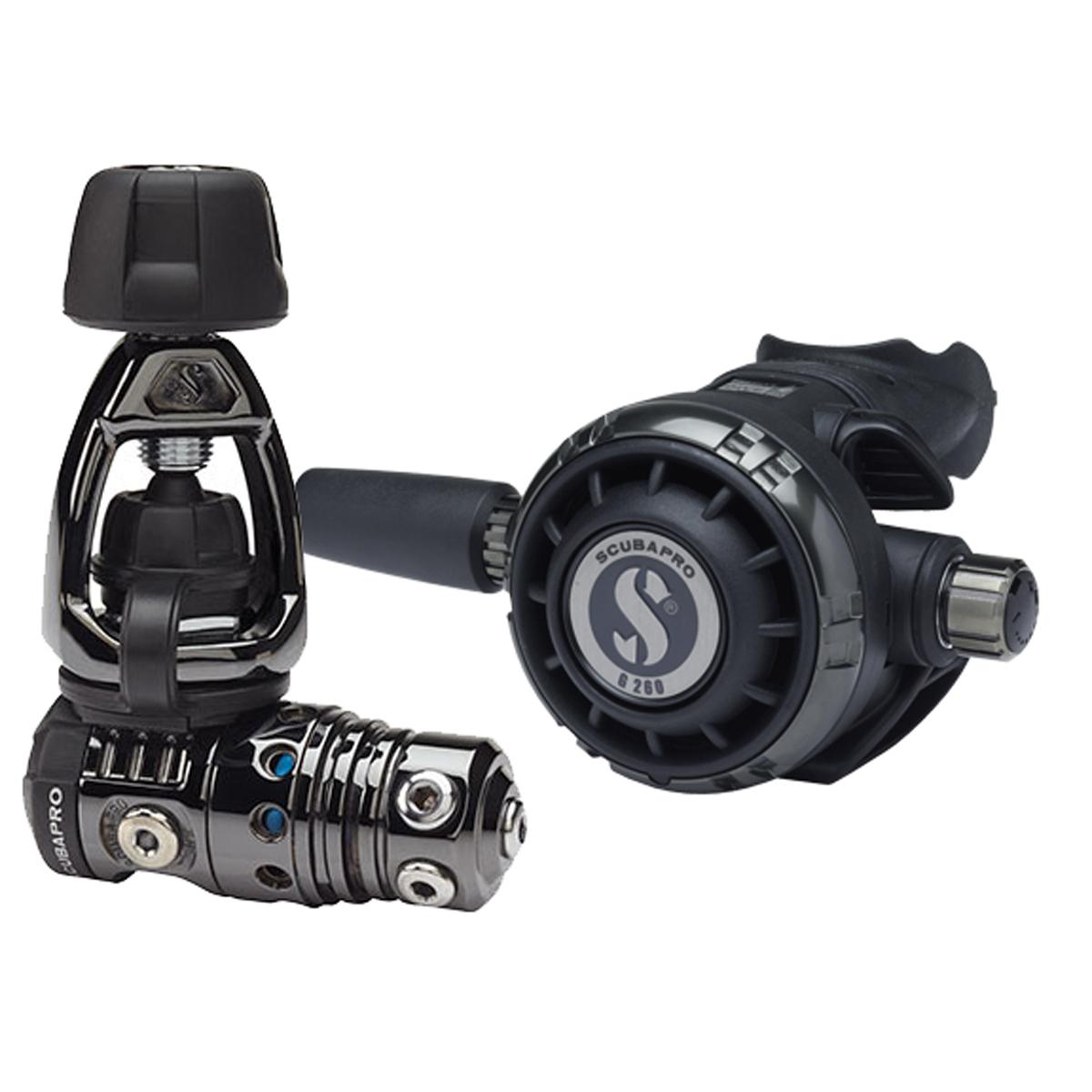 ScubaPro MK25 EVO/G260 Black Tech Regulator (Yoke)