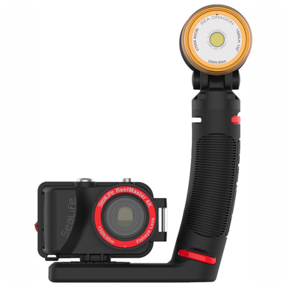 SeaLife ReefMaster Pro 2000 Underwater Camera and Lighting Set Front
