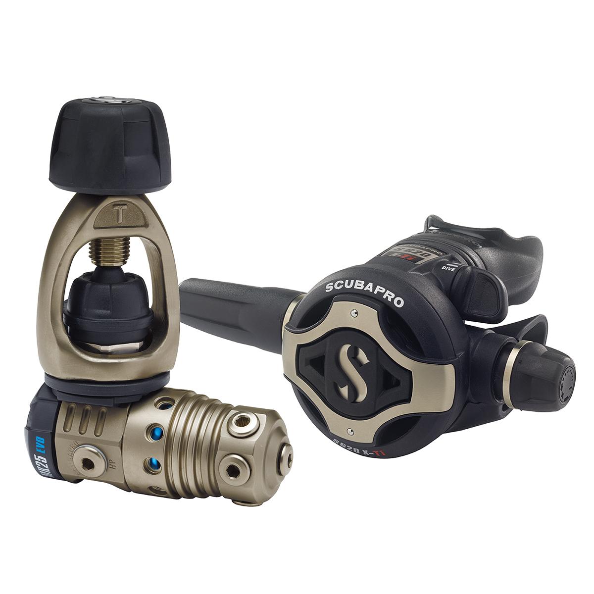SCUBAPRO MK25T EVO / S620X-Ti Balanced Dive Regulator System, INT/Yoke Connector