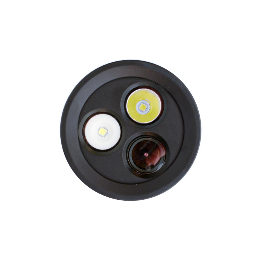 Tovatec MERA Dive Light & Built in Camera Lens