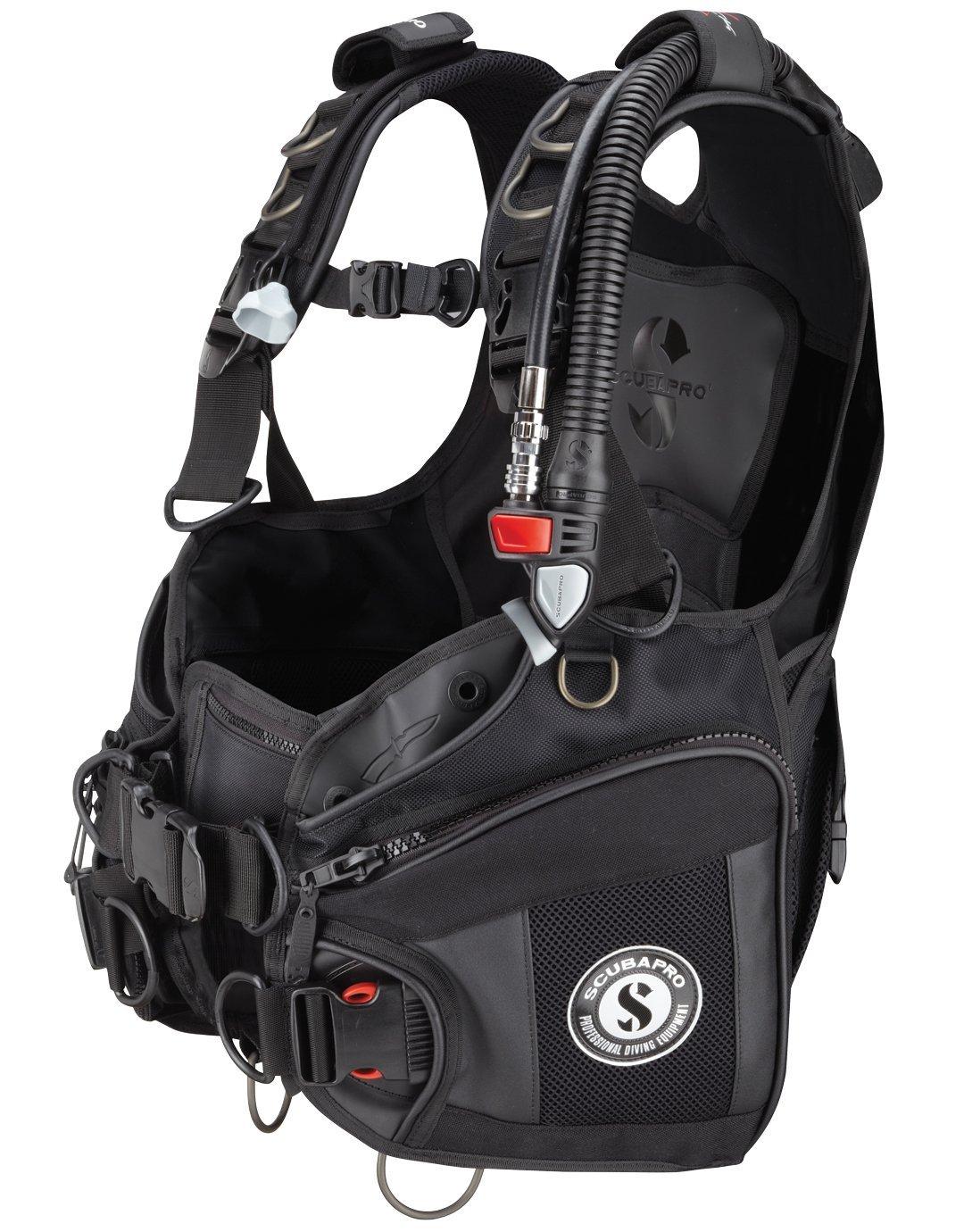 ScubaPro X-Black V Gen BCD with Air2, Black