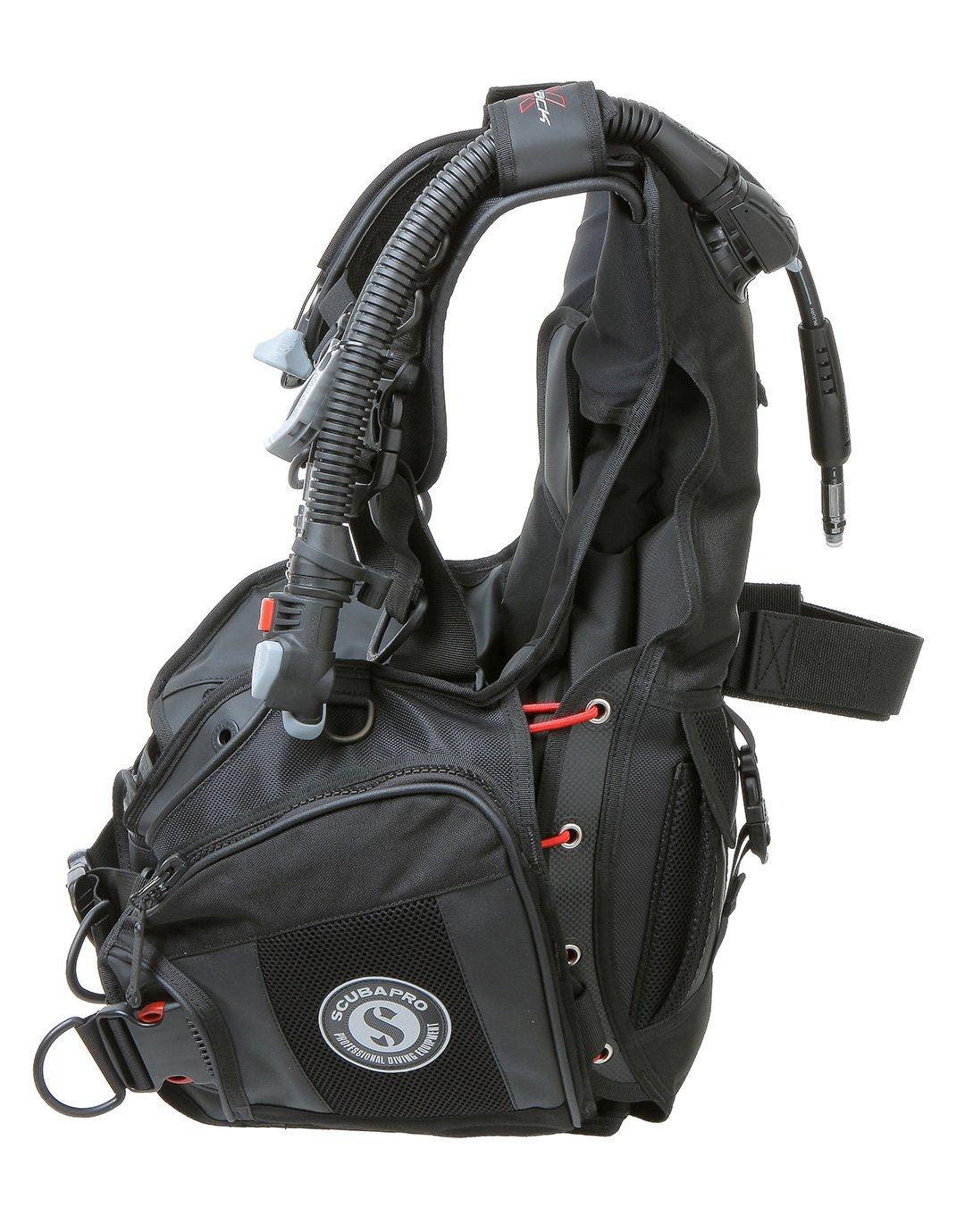 ScubaPro X-Black 5th Gen BCD w/Air2, Black