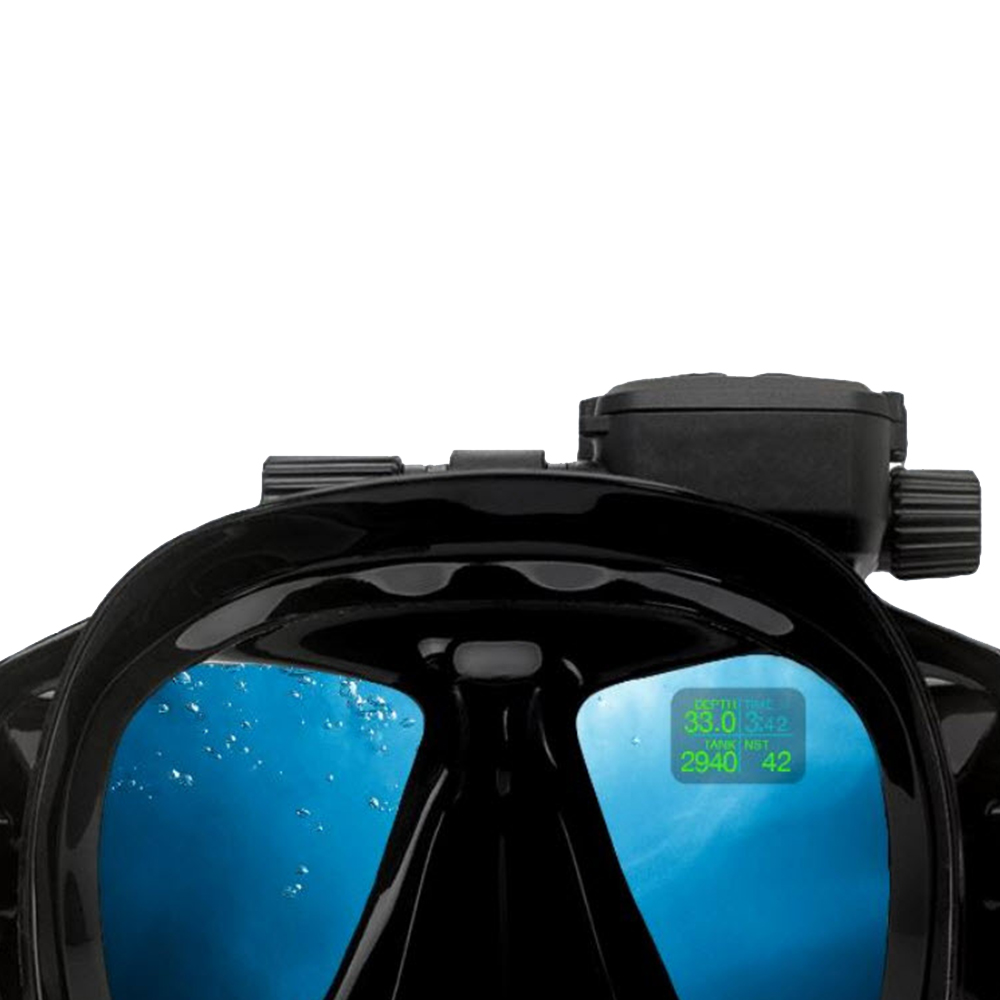 ScubaPro Galileo HUD (Heads-Up Display) and Transmitter Diver View with 'Water'