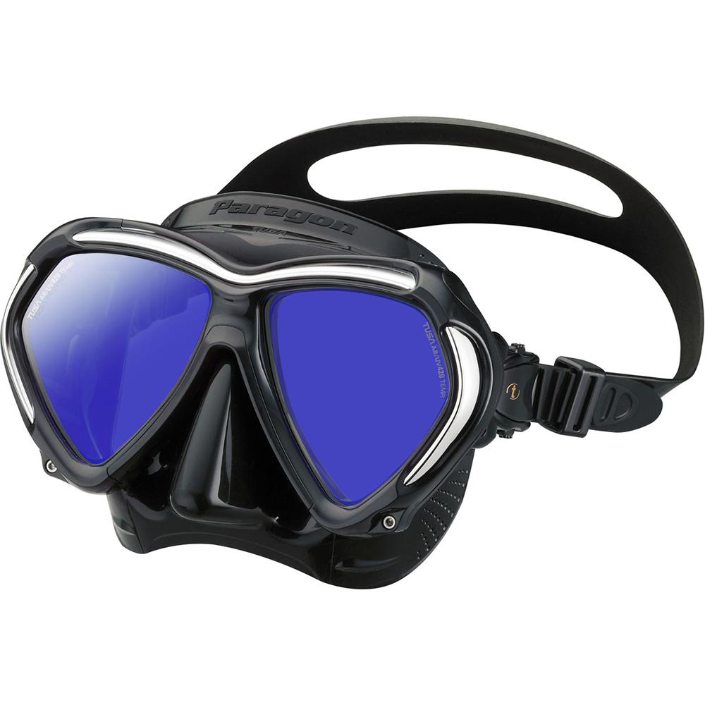 TUSA Paragon Mask, Two Lens - Black