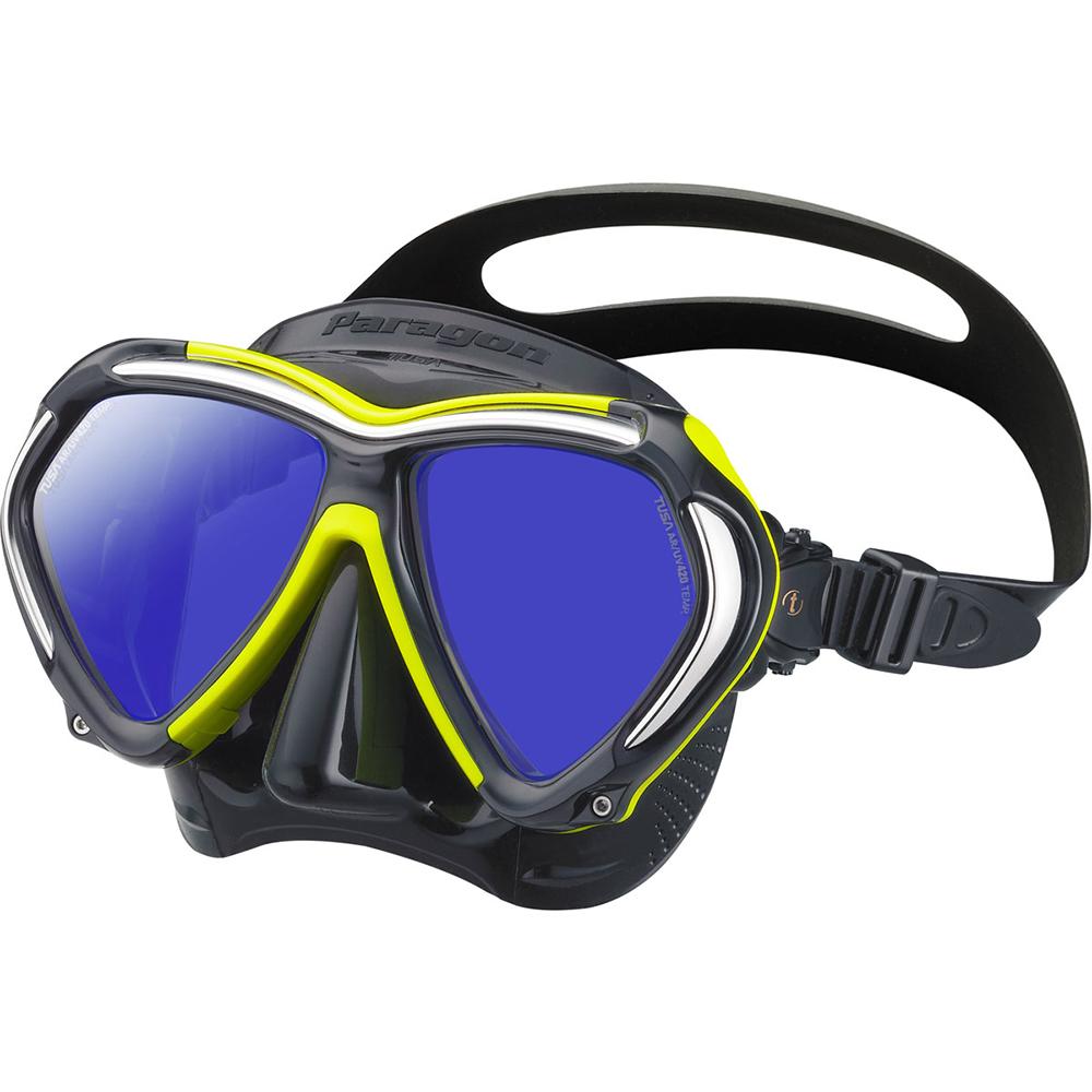 TUSA Paragon Mask, Two Lens - Flash Yellow