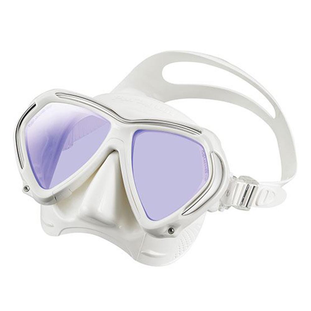 TUSA Paragon Mask, Two Lens - White / White