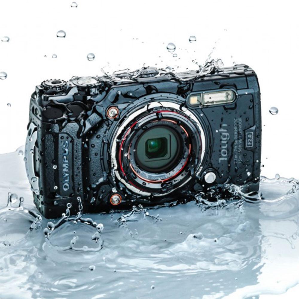 Olympus Tough TG-6 12 MP Waterproof Dive Camera black