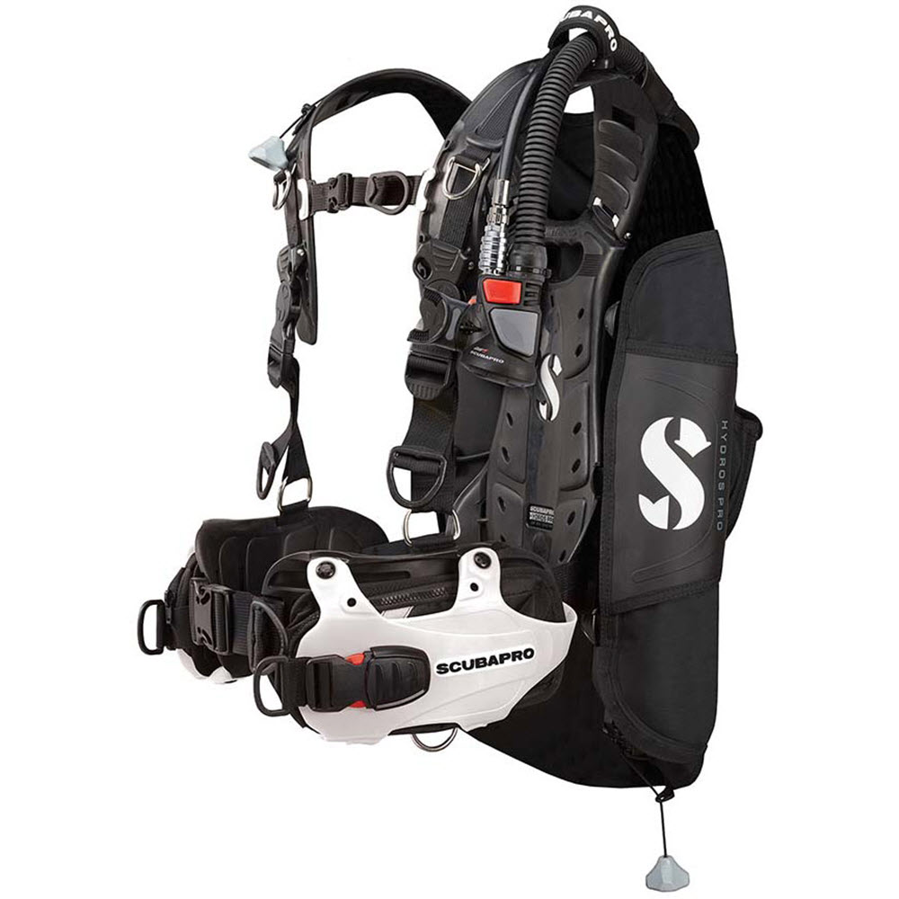 ScubaPro Hydros Pro BCD with Air2 (Women's) - White