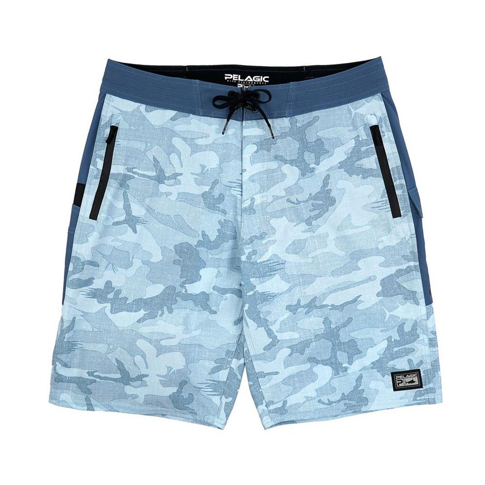 Pelagic Ocean Master Fishing Shorts - Slate