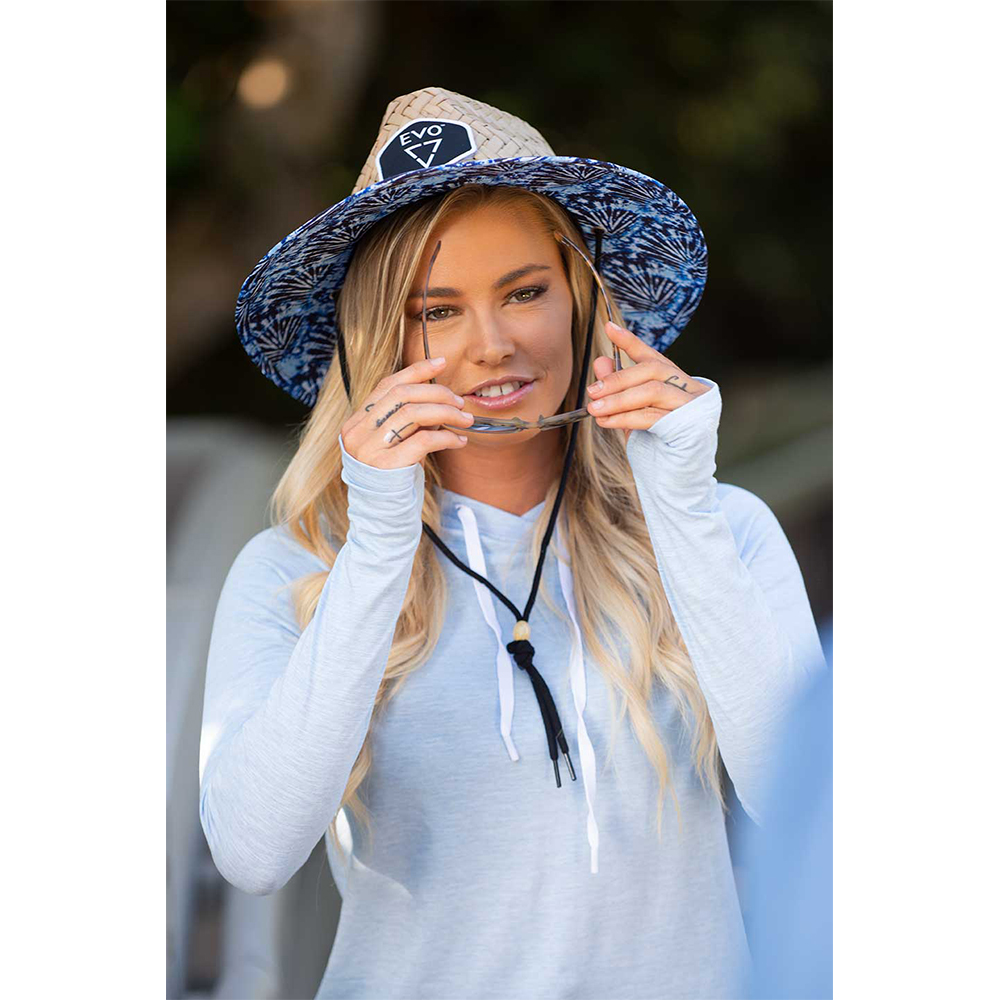 EVO Helm Hooded Long Sleeve Performance Shirt (Women's) Lifestyle