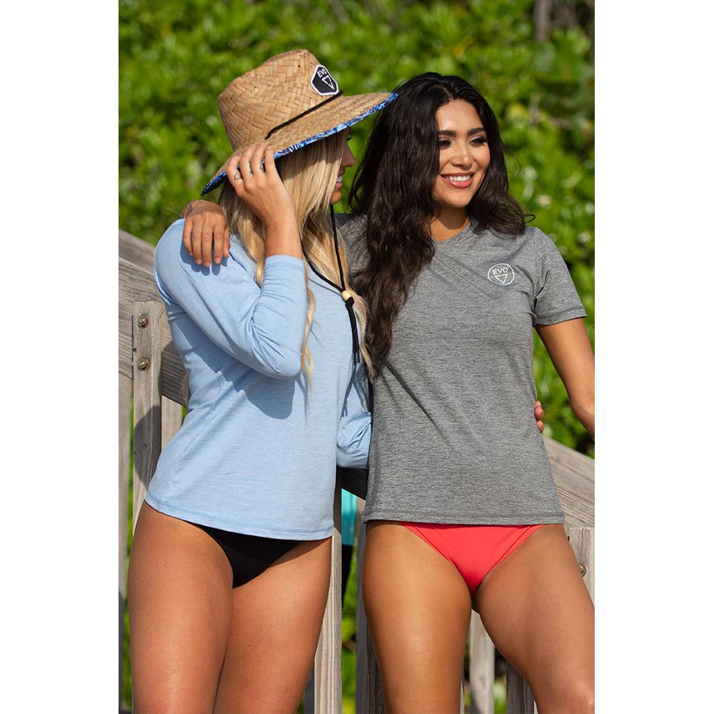 EVO Helm Hooded Long Sleeve Performance Shirt (Women's) Lifestyle Friends