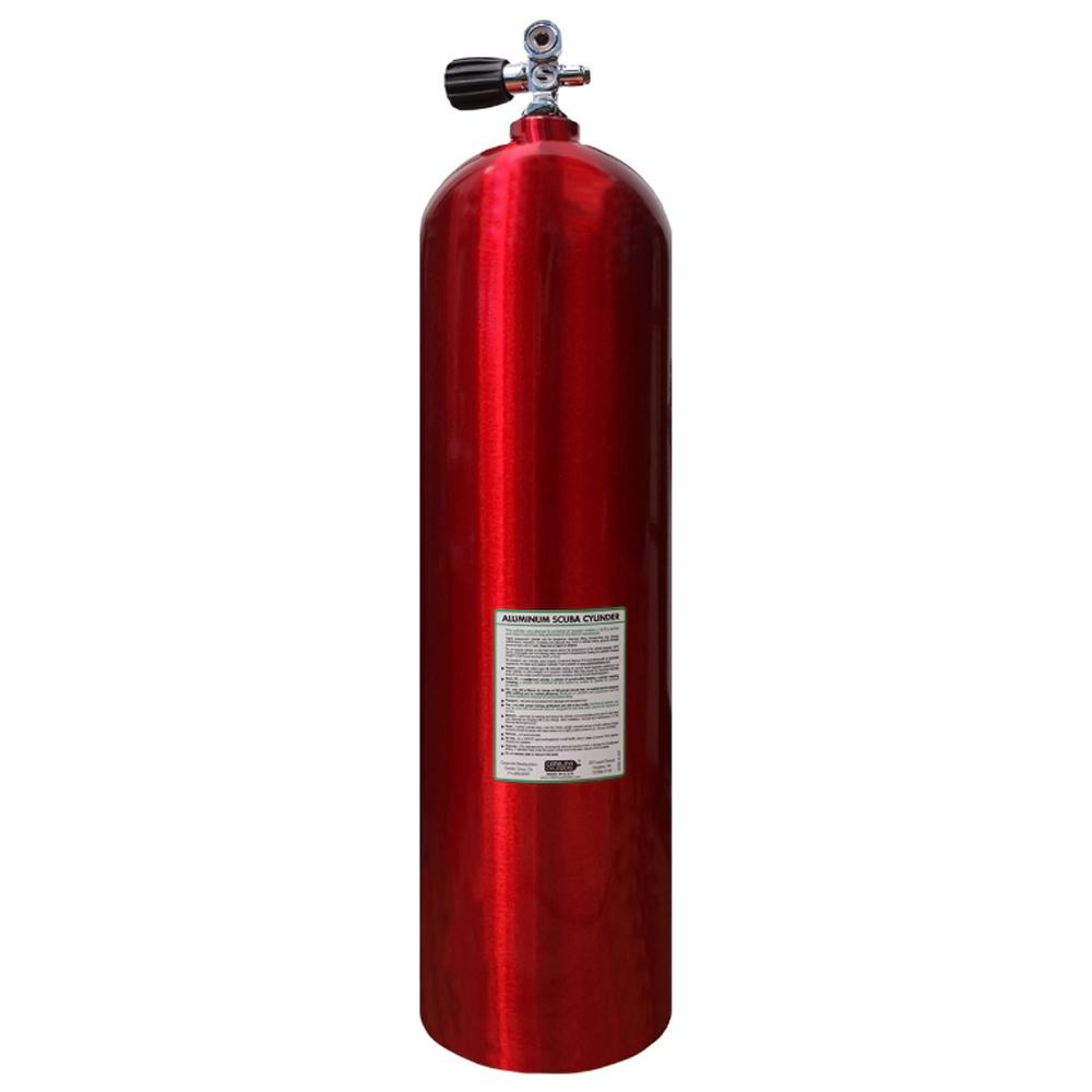 Catalina Aluminum Scuba Cylinder - Red