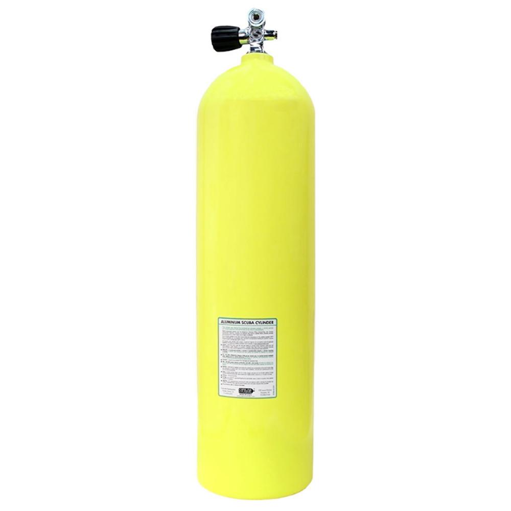 Catalina Aluminum Scuba Cylinder - Yellow