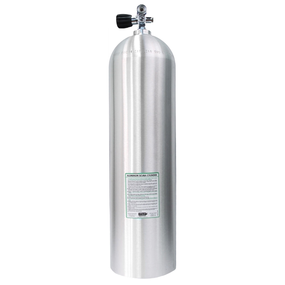 Catalina Aluminum Scuba Cylinder - Brushed