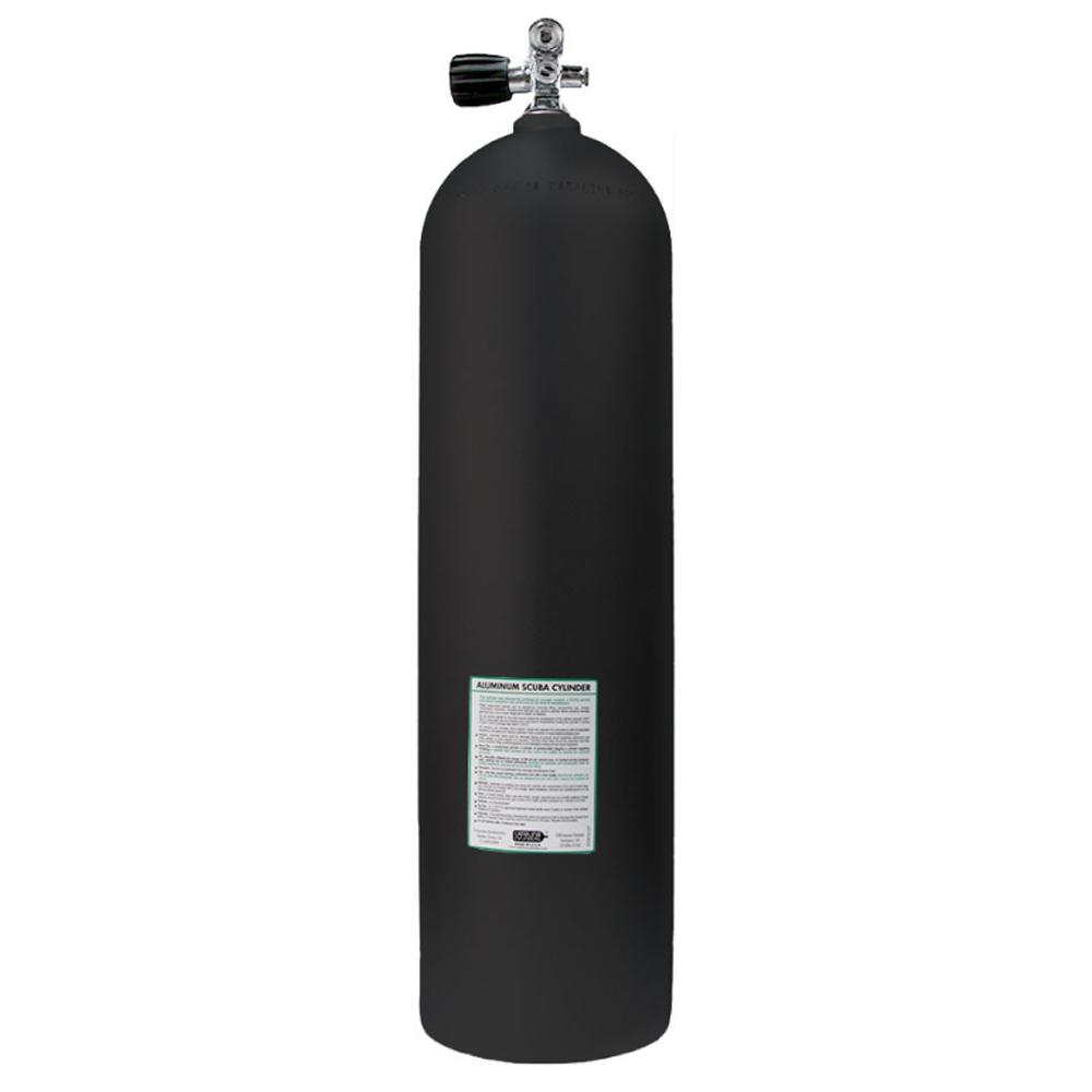 Catalina Aluminum Scuba Cylinder - Black