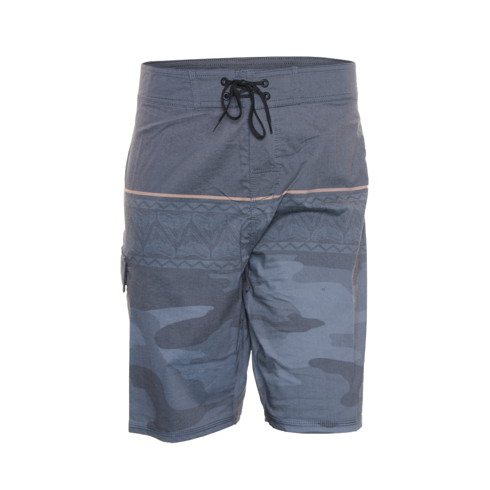 EVO Troop Boardshorts in Charcoal - Front