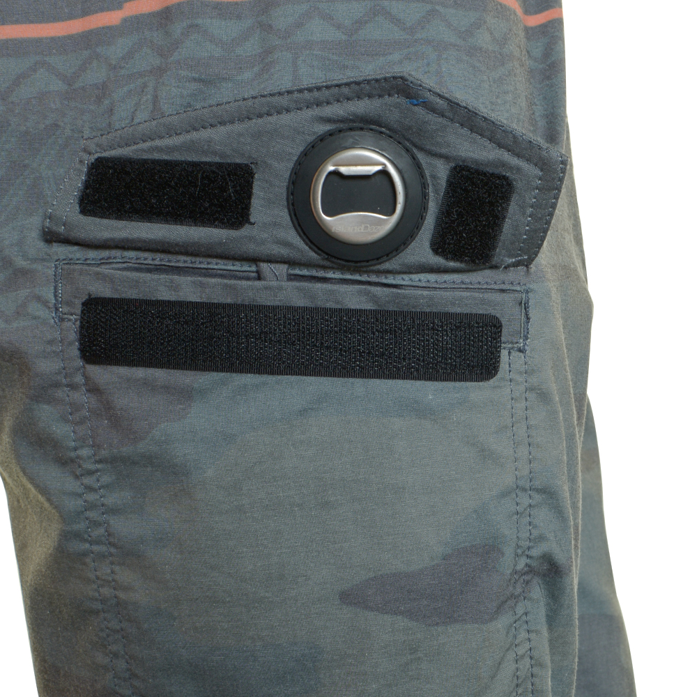 EVO Troop Boardshorts (Men's) Pocket Detail - Green
