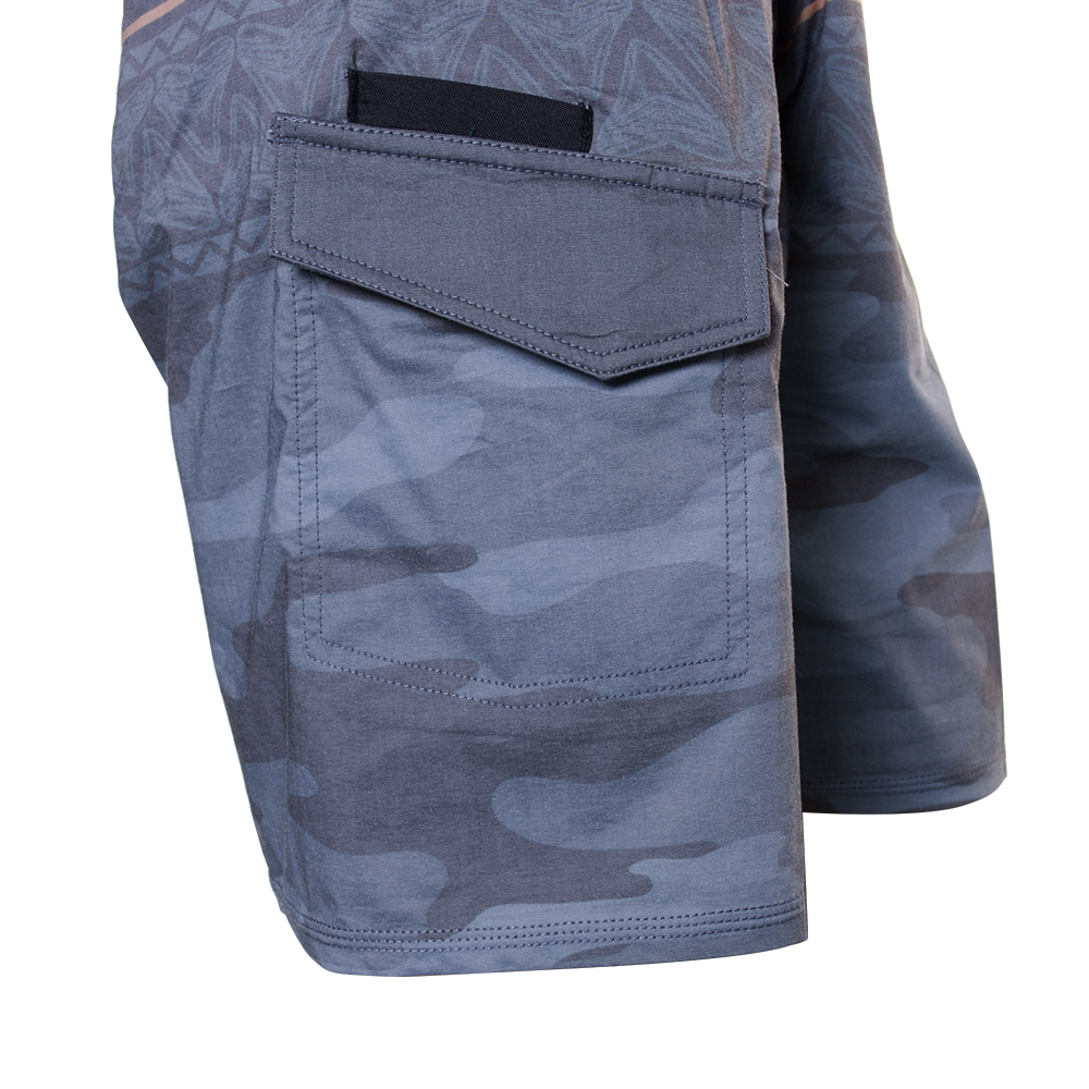 EVO Troop Boardshorts in Charcoal - Pocket Detail