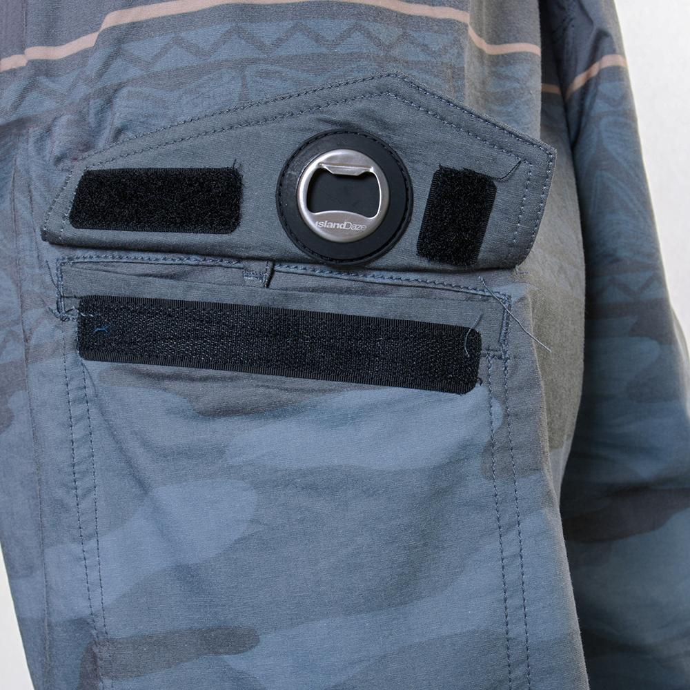 EVO Troop Boardshorts in Charcoal - Bottle Opener