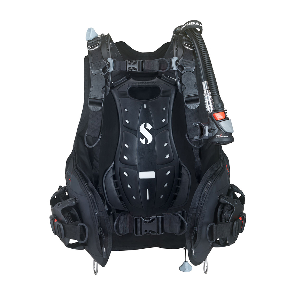 ScubaPro Hydros X BCD with Air2 (Men's) Back View