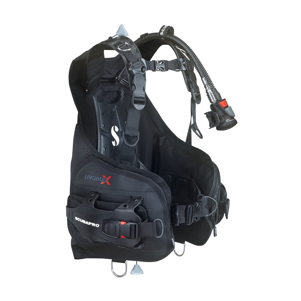 ScubaPro Hydros X BCD with Air2 (Men's) Side View