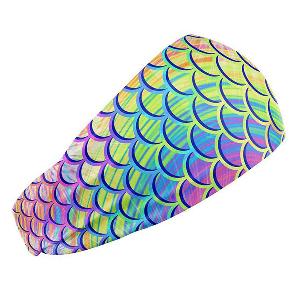 Spacefish Army Headband - Psychadelic Mermaid