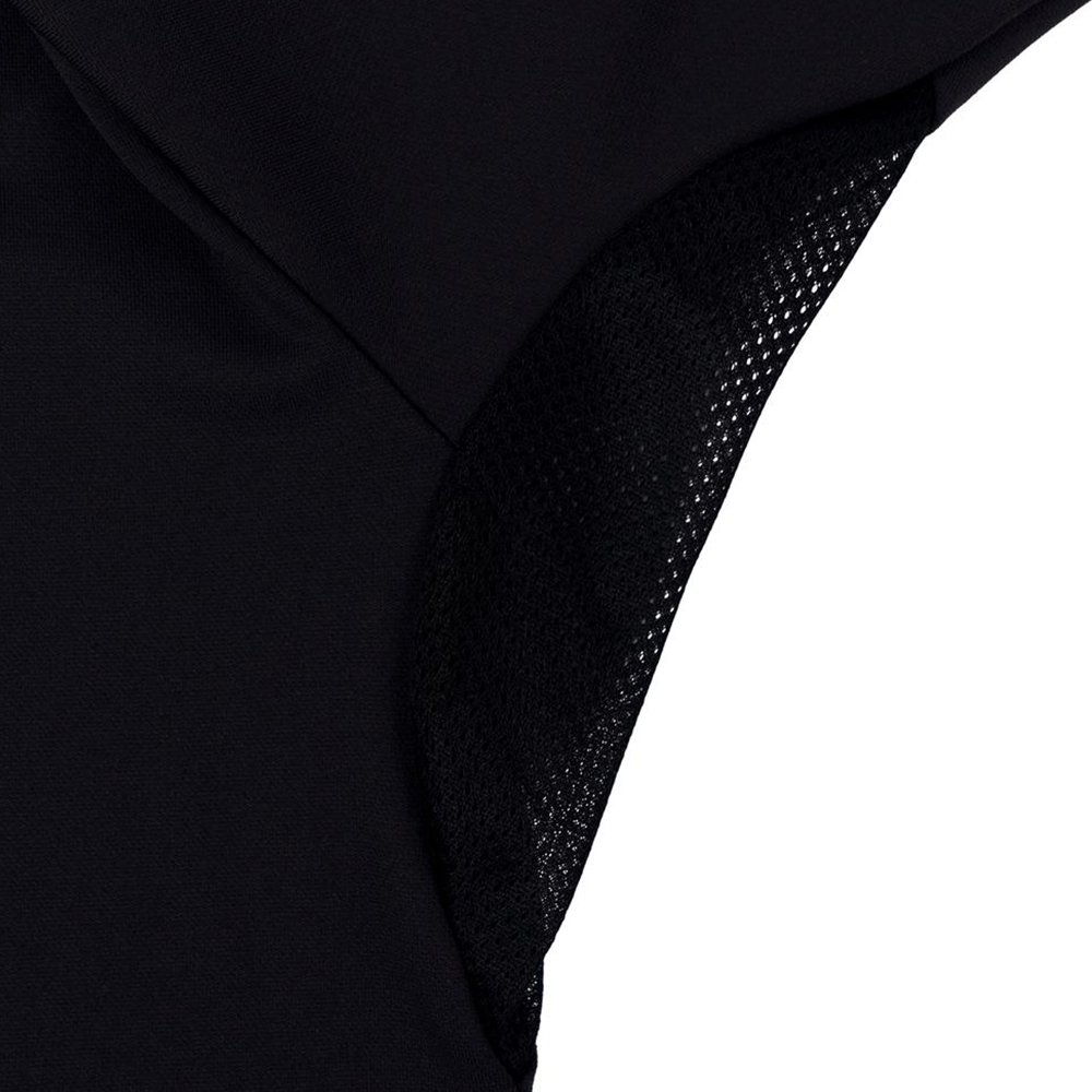 Pelagic Gyotaku Aquatek Hoodie Underarm Detail - Black