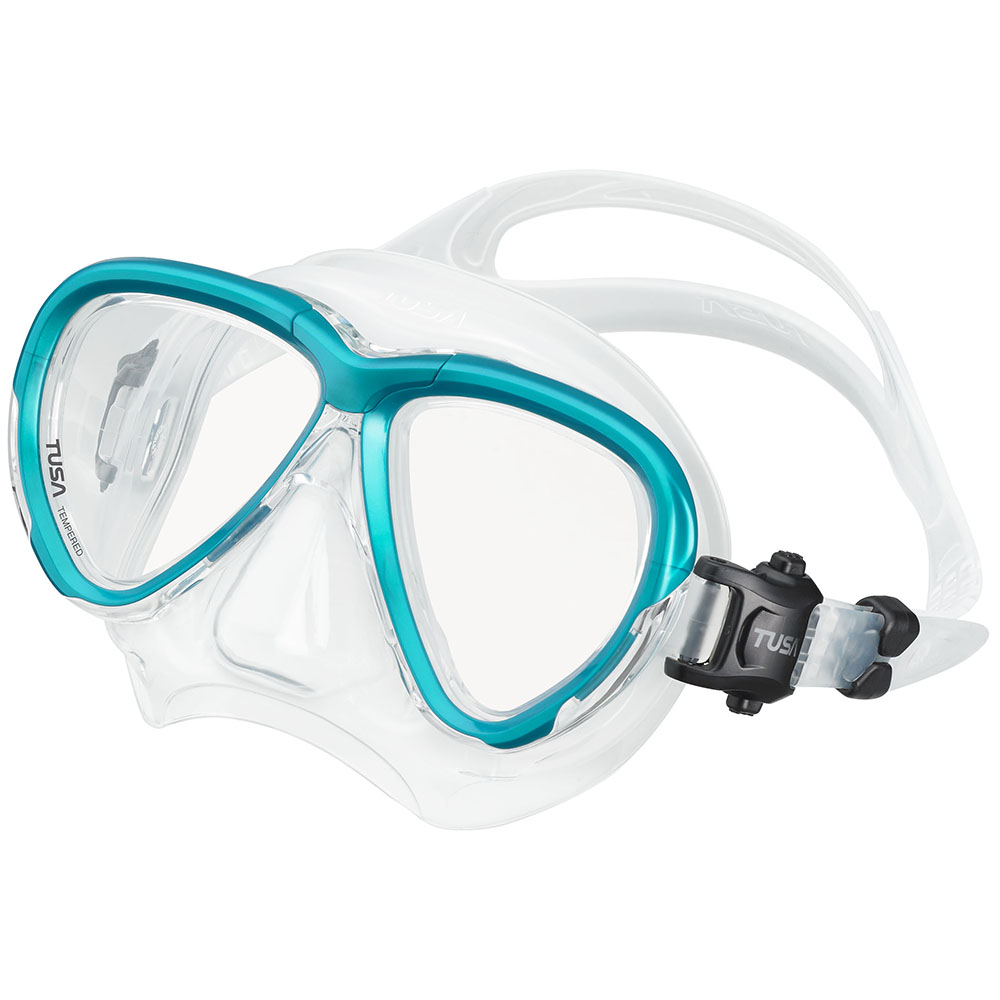 TUSA Intega Mask, Two Lens - Ocean Green