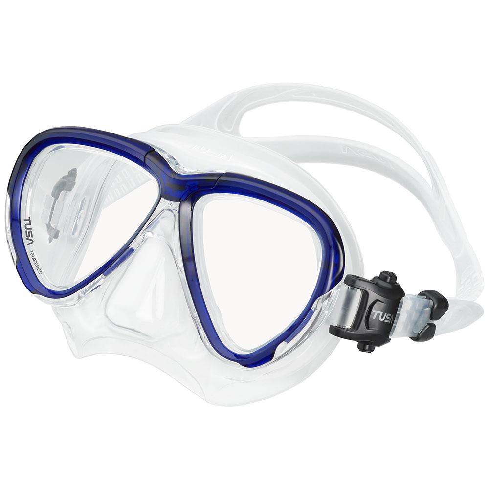TUSA Intega Mask, Two Lens - Cobalt Blue