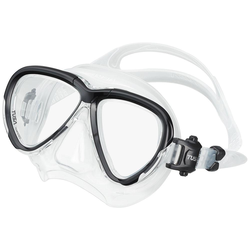 TUSA Intega Mask, Two Lens - Black