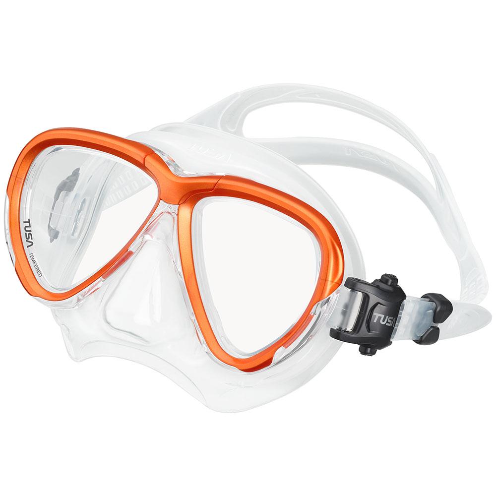 TUSA Intega Mask, Two Lens - Energy Orange