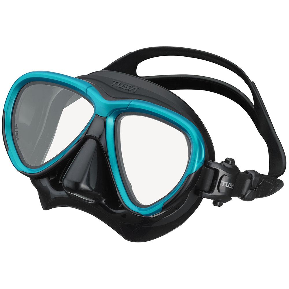 TUSA Intega Mask, Two Lens - Ocean Green/Black